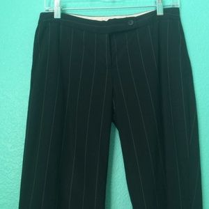 Limited Drew Fit Pinstripe Wide Leg Trousers 2